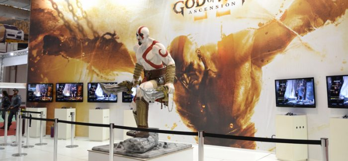 Sony com God of War Ascension na BGS 2012!