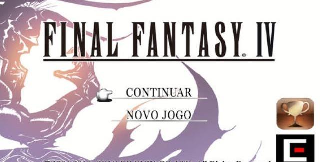 Final Fantasy IV (PTBR) já disponível na Apple Store!