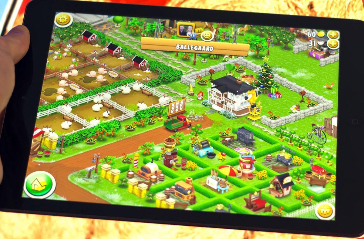 Hay Day é um dos populares jogos casuais de iPad