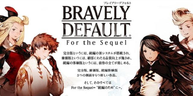 Square Enix anuncia Bravely Default Free to Play Edition para 3DS