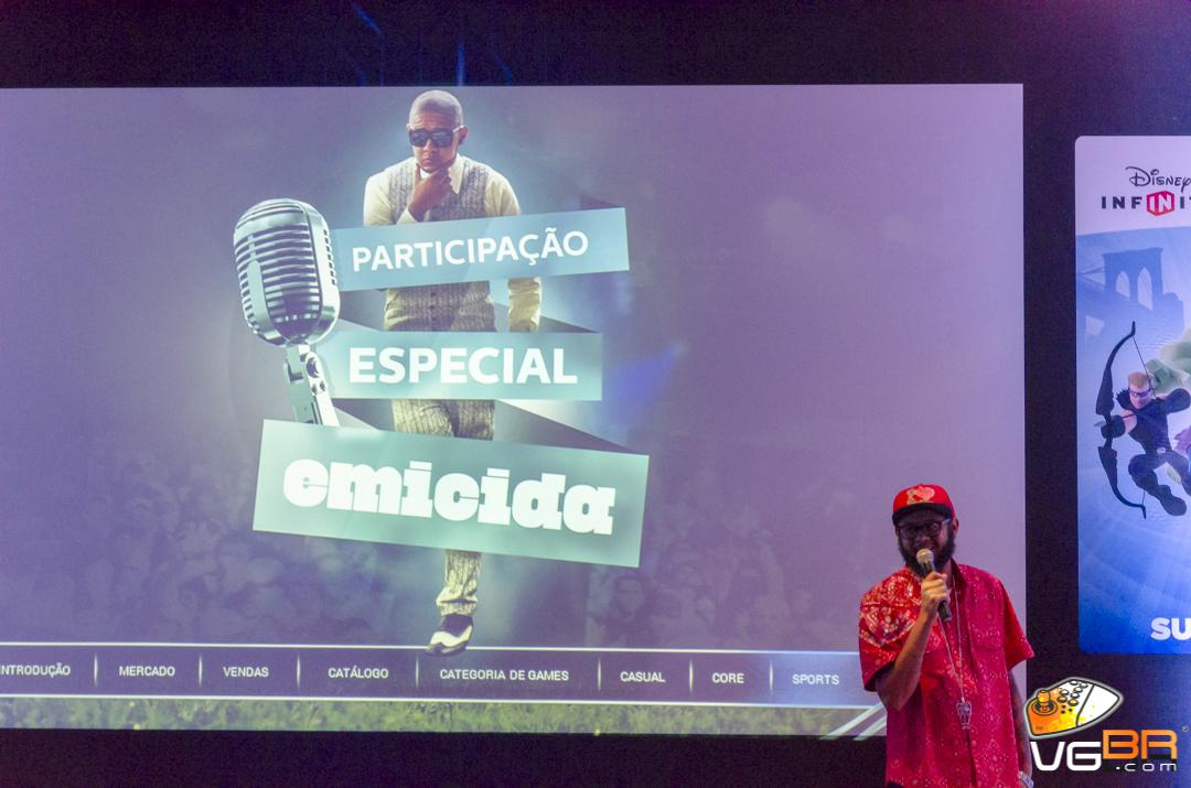 A trilha sonora oficial do game conta com o rapper brasileiro, Emicida.