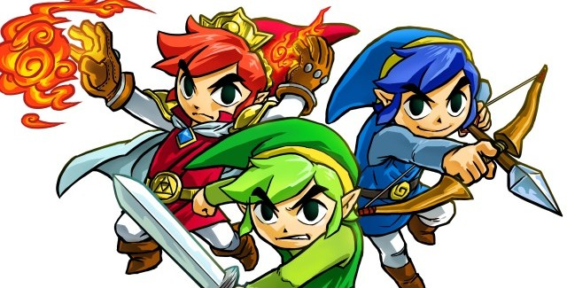 E3 2015 * The Legend of Zelda: Tri-Force Heroes