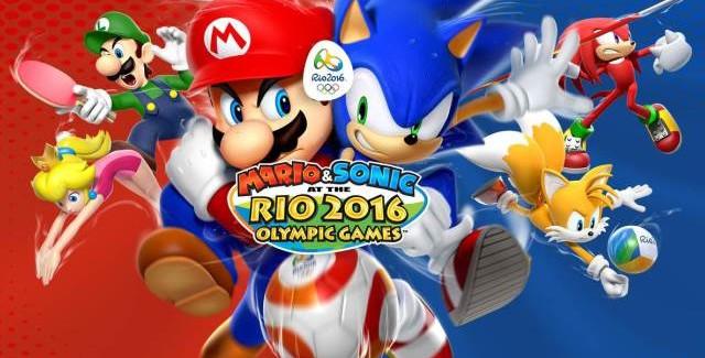 Nintendo confirma data para Mario & Sonic Rio 2016