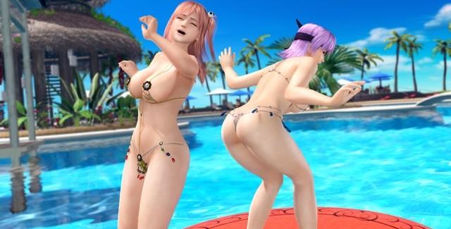 Venus e Fortune Swimsuits nas novas imagens de Dead or Alive Xtreme 3
