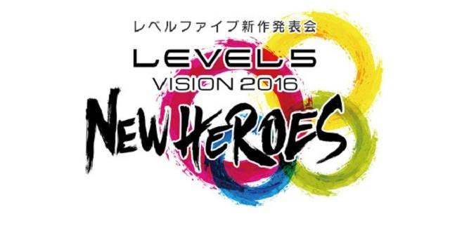 """Level-5 revelada data do evento """"Level-5 Vision 2016"""""""