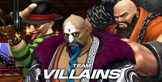 Team Villans é apresentado em The King of Fighters XIV