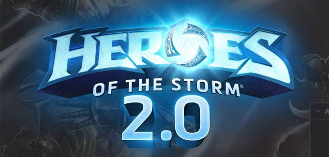 As novidades de Heroes of the Storm 2.0