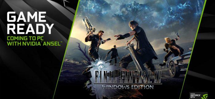 Final Fantasy XV, demo disponível para PC