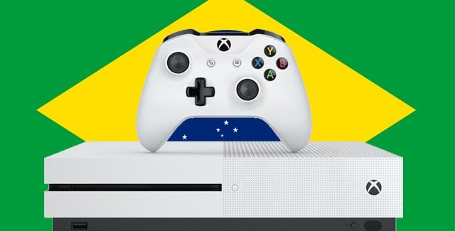 Xbox One S chega HOJE às lojas de todo o Brasil