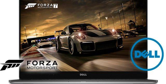 Dell anuncia notebooks com bundle de Forza 7