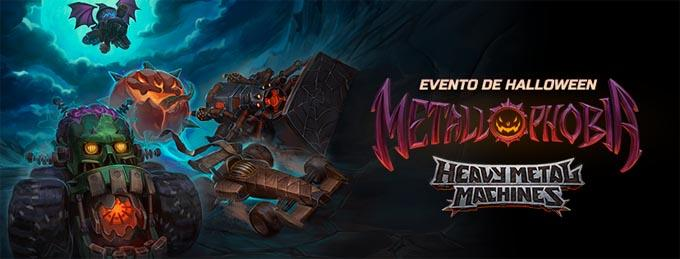 Halloween Heavy Metal Machines