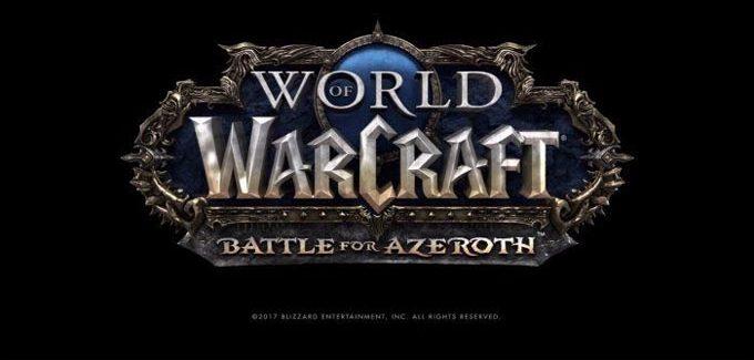 Battle for Azeroth é a nova expansão de World of Warcraft