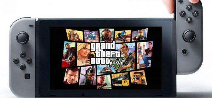 Rumor sugere GTA V para Nintendo Switch