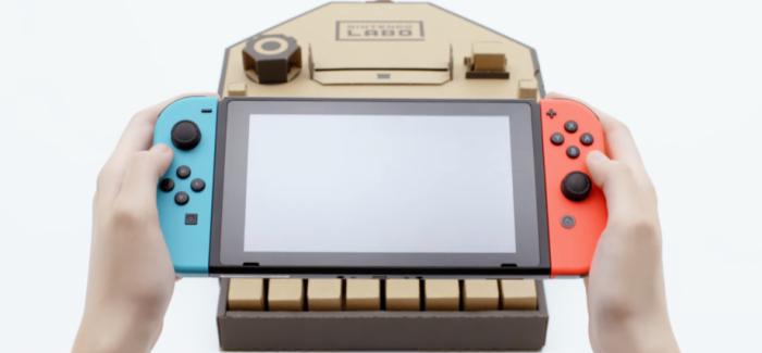 Nintendo Labo, tudo que você precisa saber