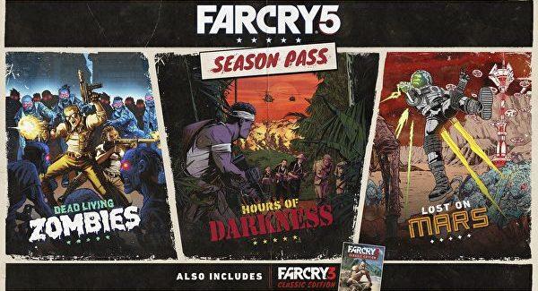 Ubisoft revela passe de temporada de Far Cry 5