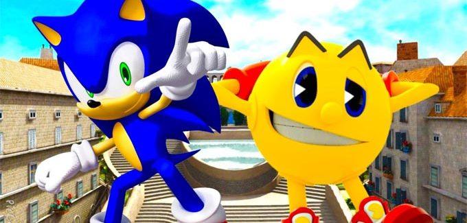 Sonic e Pac-Man unem forças nos smartphones