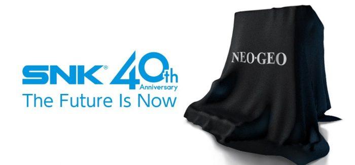 SNK anuncia novo console em homenagem aos 40 anos da empresa