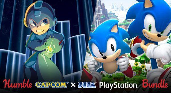 Humble Capcom x Sega PlayStation Bundle inclui 12 games por U$15