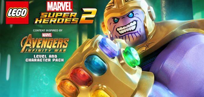 Vingadores: Guerra Infinita terá DLC para LEGO Marvel Super Heroes 2