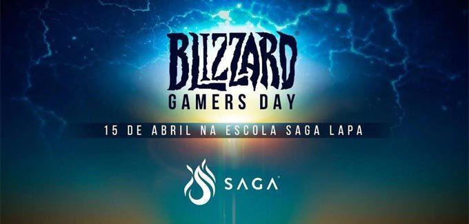 SAGA recebe fãs de Hearthstone e Overwatch no Blizzard Gamers Day