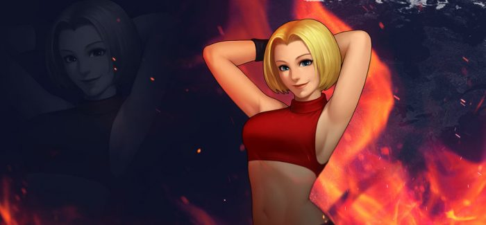 Blue Mary retorna em DLC de King of Fighters XIV