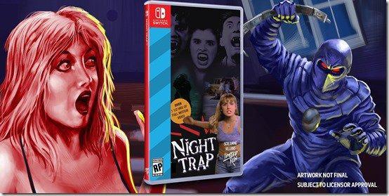 Edição de 25 anos de Night Trap é anunciada para Nintendo Switch!