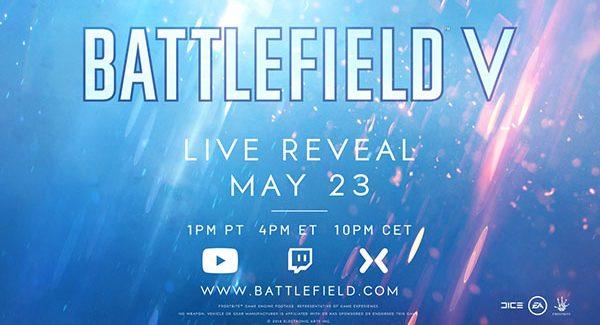 Battlefield V anunciado
