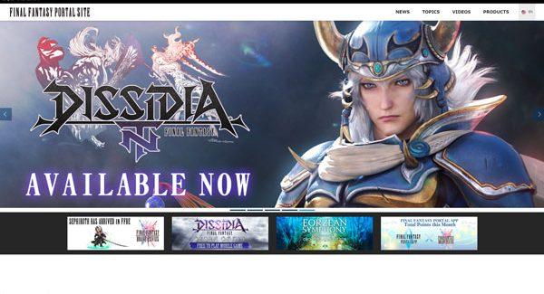 Square-Enix inaugura o portal oficial da série Final Fantasy