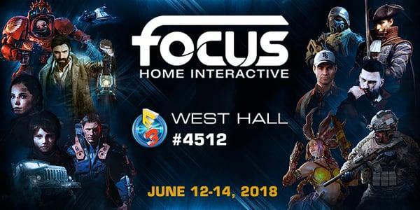 Focus Home Interactive anuncia sua line-up da E3 2018