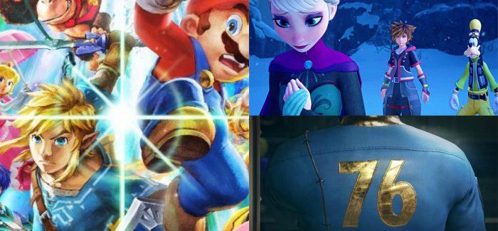 Confira quais foram os jogos mais comentados da E3 2018 nas redes sociais