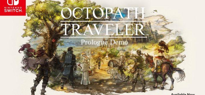 Demo do prólogo de Octopath Traveler já está disponível na eShop