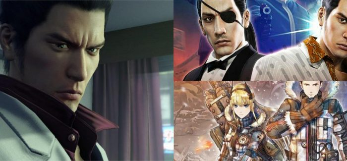Yakuza 0, Yakuza: Kiwami e Valkyria Chronicles 4 chegando no PC