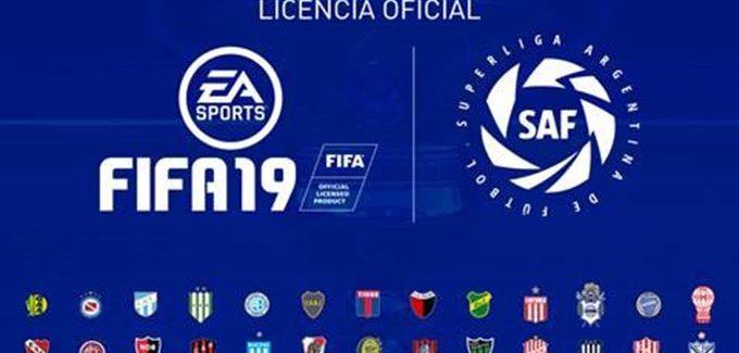EA Sports FIFA 19 receberá a Superliga Argentina