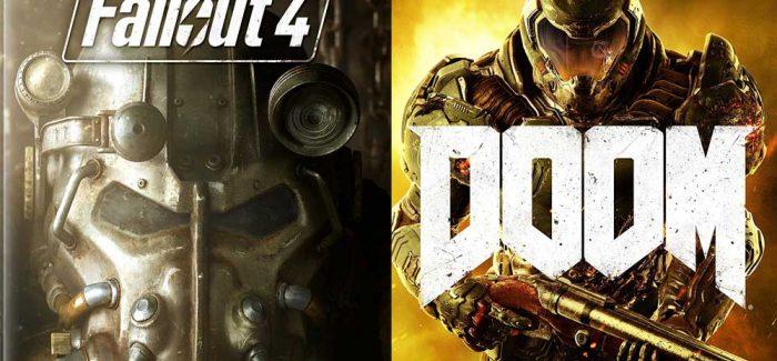 DOOM e Fallout 4 por menos de R$20 na Hype
