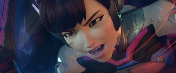 D.Va é a estrela da nova animação de Overwatch