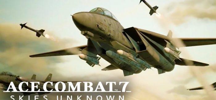 Detalhes sobre o lançamento de Ace Combat 7: Skies Unknown