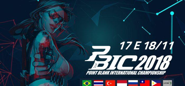 Finais brasileiras do Mundial de Point Blank em São Paulo no dia 20 de outubro