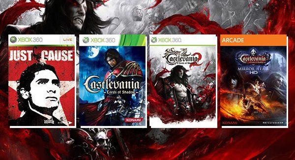 Just Cause, Castlevania: Lords of Shadow 1, 2 e Mirror of Fate HD adicionados ao Xbox One via Retrocompatibilidade