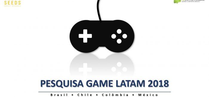 1ª Pesquisa Game Latam mostra números do mercado de games