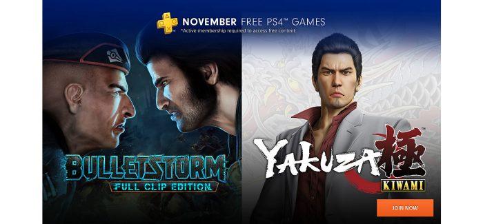 Vazam alguns dos jogos que estarão na PS PLUS de Novembro