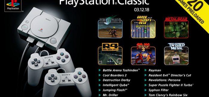 Confira a lista completa dos jogos do PlayStation Classic