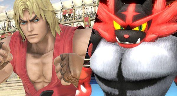Ken e Incineroar são os novos personagens de Super Smash Bros. Ultimate