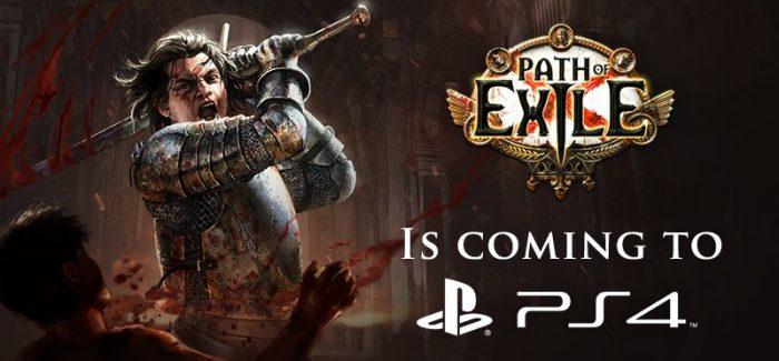 Path of Exile anunciado para PlayStation 4