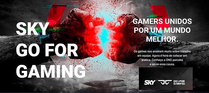 Desafio das Celebridades de CS:GO no SKY Go for Gaming