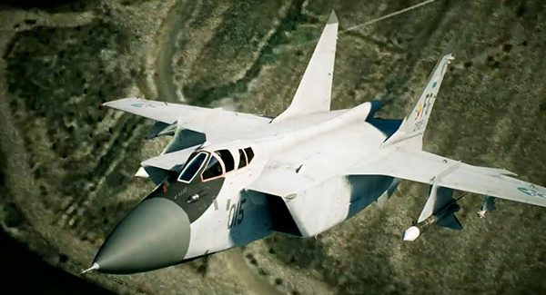 Ace Combat 7: Skies Unknown 'MiG-31B' trailer
