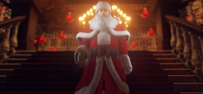 """HITMAN 2: Missão grátis """"Holiday Hoarders"""" está de volta com o traje de Papai Noel"""
