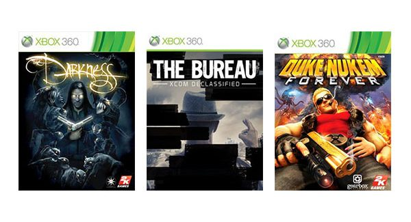 The Darkness, The Bureau: XCOM Declassified e Duke Nukem Forever foram adicionados ao Xbox One