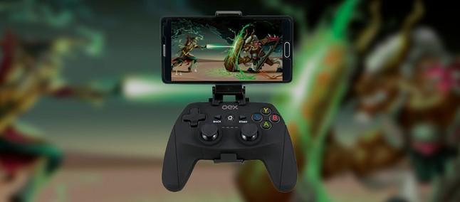 OEX Game anuncia novo Gamepad Bluetooth para PCs e Smartphones
