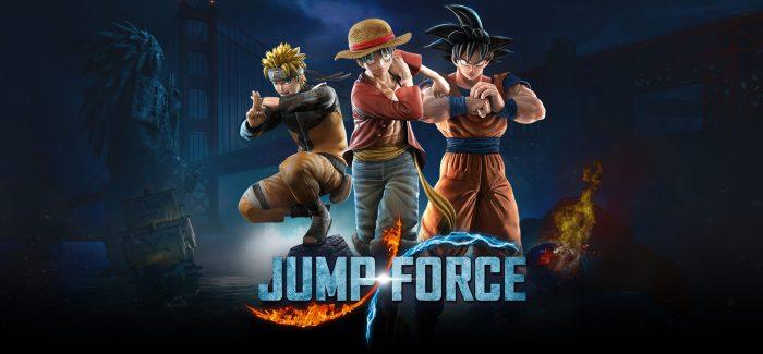 Open Beta de JUMP FORCE Terá Início em 18 de Janeiro, nos Consoles PS4 e Xbox One