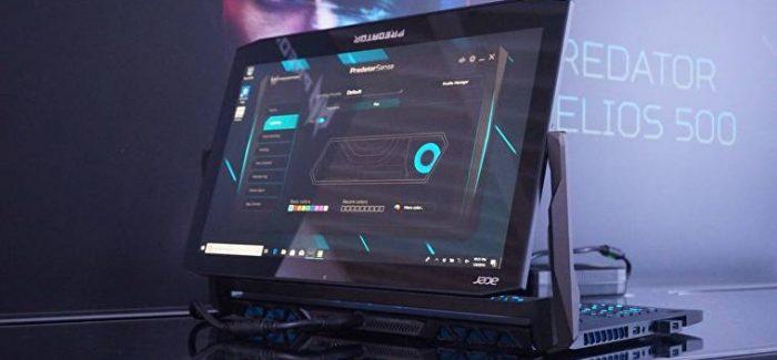 Acer anuncia novos modelos de notebooks gamer Predator Triton na CES 2019